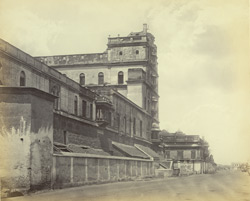 Tanjore Palace. View from the street